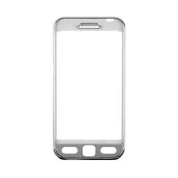 FRONT COVER SAMSUNG GT-S5230 SILVER