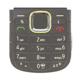 KEYPAD NOKIA 6720c METALLIC GREY