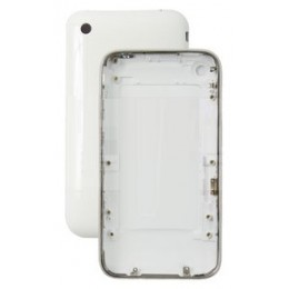 HOUSING COMPLETE APPLE IPHONE 3G WHITE 16GB COMPATIBLE HIGH QUALITY (BACK COVER + METAL FRAME)