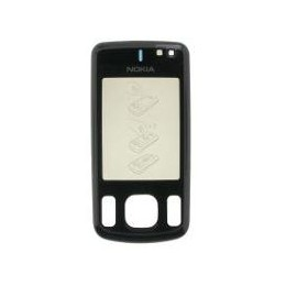 FRONT COVER NOKIA 6600S BLACK