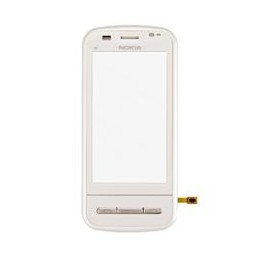 TOUCH SCREEN NOKIA C6-00 ORIGINAL WITH FRONT COVER WHITE + FRAME