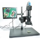 "MICROSCOPE WITH 8 ""MONITOR MODEL VB20-8"