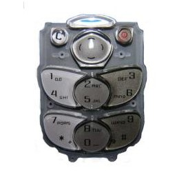 KEYPAD NOKIA 2300 WHITE GREY