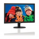 MONITOR PHILIPS LED 21.5' 16:9 NERO  VGA+DVI 223V5LSB