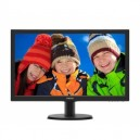 MONITOR PHILIPS LED 23,6' V-LINE FULL HD