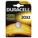 BATTERIA AL LITIO 3 VOLT A BOTTONE CR2032 DURACELL