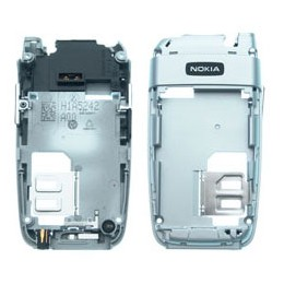 BACK HOUSING NOKIA 6101 SILVER