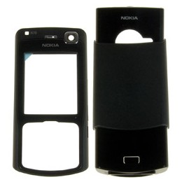 COMPLETE HOUSING ORIGINAL NOKIA N70 BLACK MUSIC