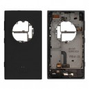 COVER BATTERIA NOKIA LUMIA 1020 ORIGINALE COMPLETO NERO
