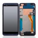 DISPLAY HTC DESIRE 816 COMPLETO DI TOUCH SCREEN + CORNICE ORIGINALE COLORE GRIGIO