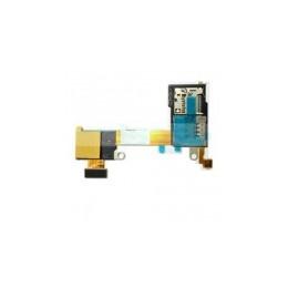 FLEX CABLE SONY XPERIA M2/S50H ORIGINAL WITH SIM CARD READER